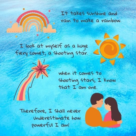 Romance Quote Illustration Instagram Post